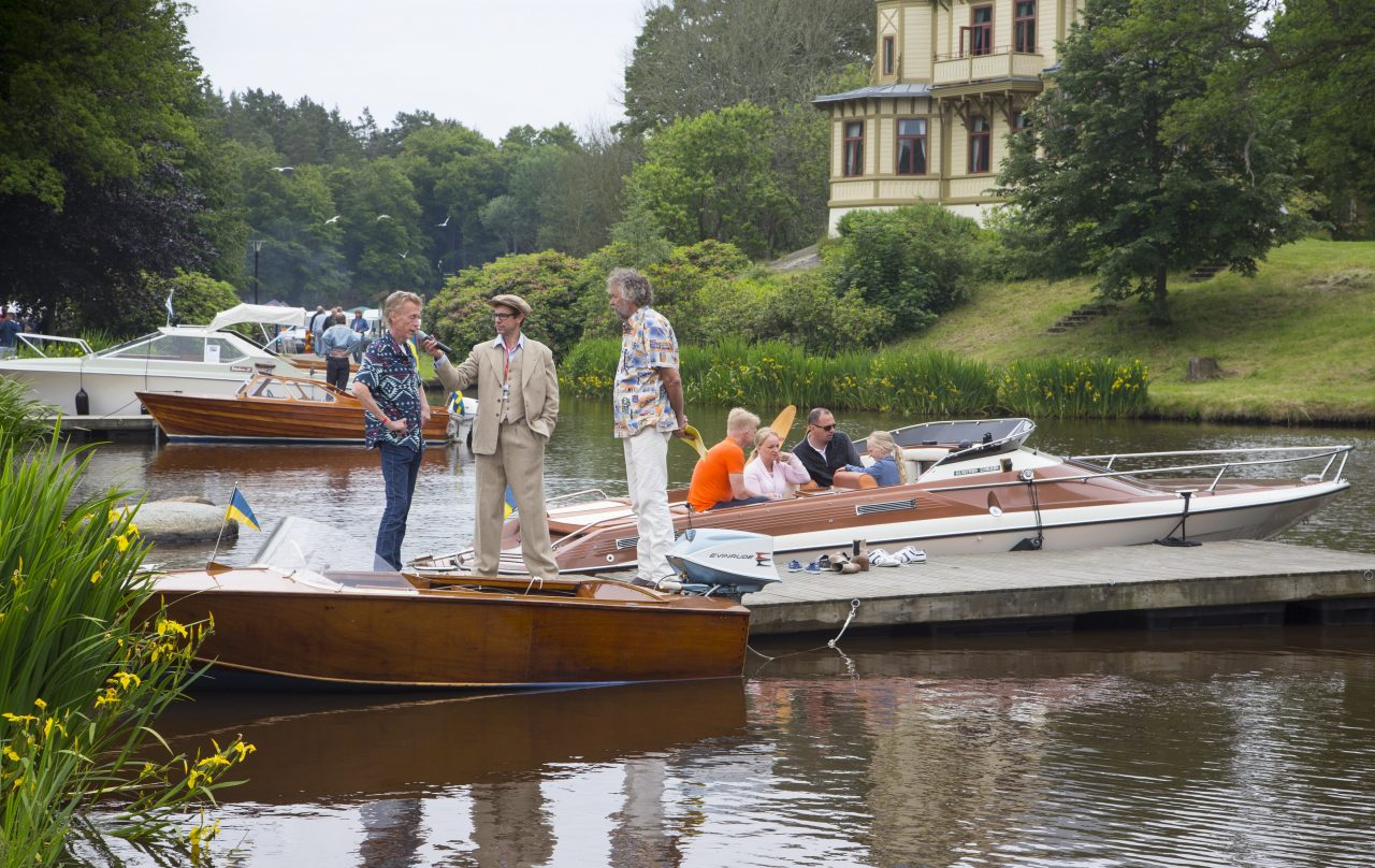 Båtarna i dammen
